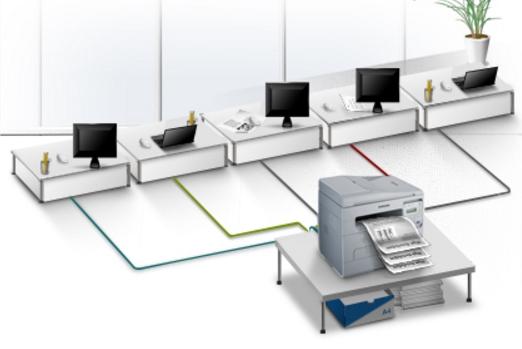 Installare una stampante di rete (Windows e Mac)